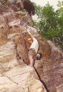 Rock Climbing Photo: Latter half of the 1990's.