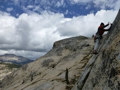 Rock Climbing Photo: Brian Bennett on the FA of One Tolkien Over The Li...