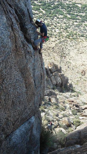 Rock Climbing Photo: Kyle Gibson on Charmamder