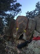 Rock Climbing Photo: Unknown aka Bashie Line.