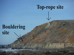 Rock Climbing Photo: Climbing site locations