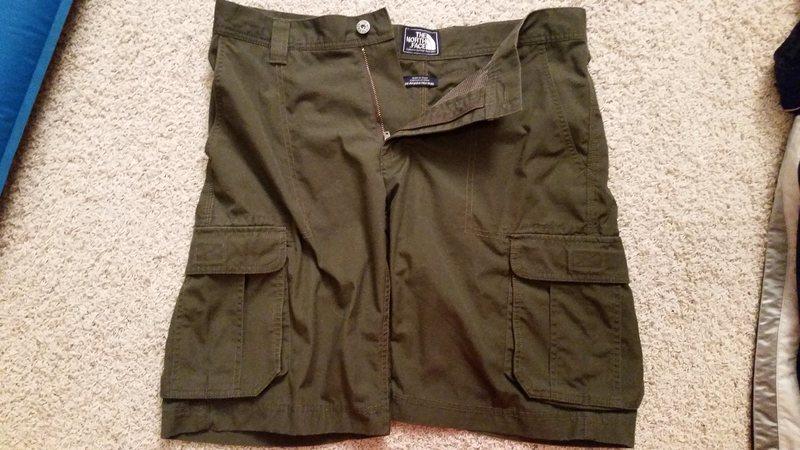 tnf shorts 1
