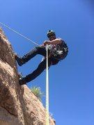 Rock Climbing Photo: Check a Board at NM 5.7