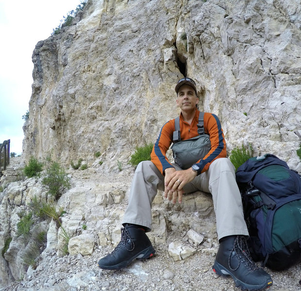 Rock Climbing Photo: Guadalupe Peak