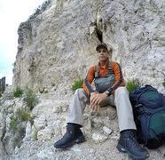 Rock Climbing Photo: Guadalupe Peak