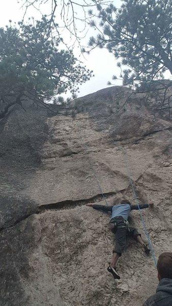 Rock Climbing Photo: V