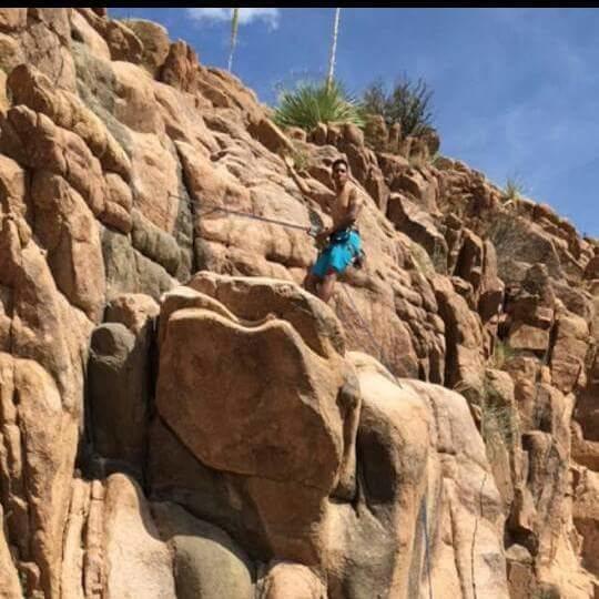 Rock Climbing Photo: T