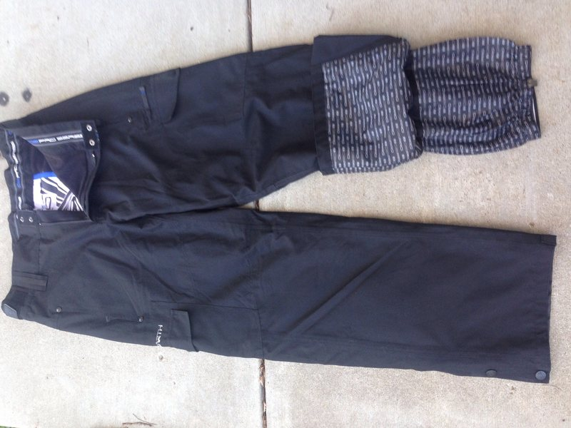 Rock Climbing Photo: Ocean Earth Snow Pants size Large