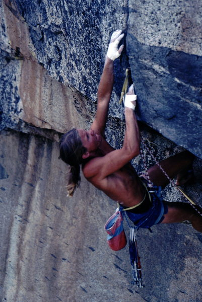 Rock Climbing Photo: oooo!ouch!  F photo: Bob Horan Collection.