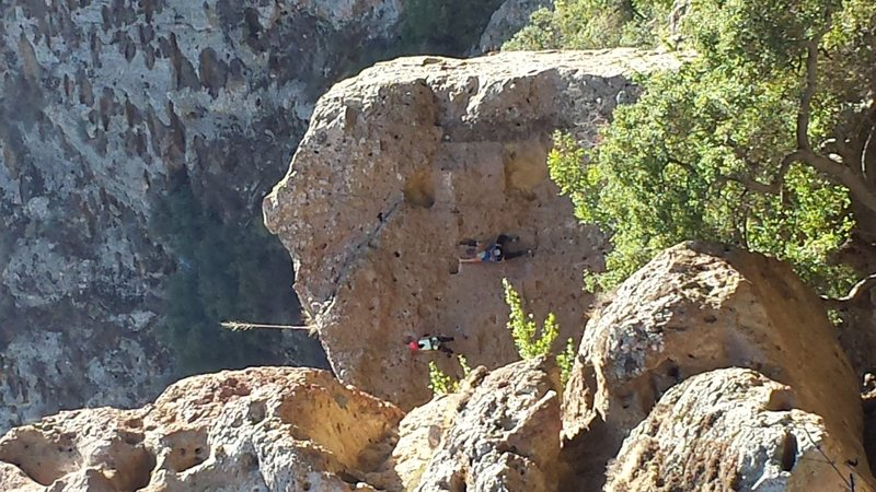 Is this climber on Stumbling Blocks?