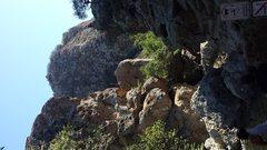 Rock Climbing Photo: Stumbling Blocks? Zoomed out