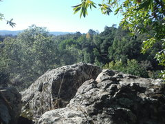 Rock Climbing Photo: View form top on the approach