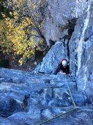 Rock Climbing Photo: Coming up P1