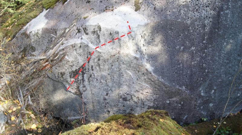 Rock Climbing Photo: Lackluster Topo