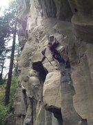 Rock Climbing Photo: Alex Borst on the V9 direct start to  either Necro...