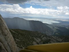 Rock Climbing Photo: An unforgettable climb and views while sitting out...