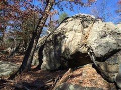 Rock Climbing Photo: Panther Cave.