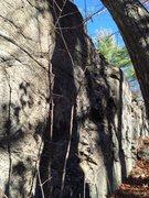 Rock Climbing Photo: Cliff 1.