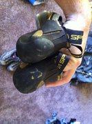 Rock Climbing Photo: Katana Lace Modification