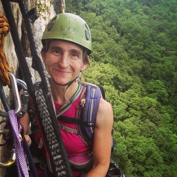 Rock Climbing Photo: Me at Seneca Rocks, WV
