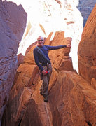 Rock Climbing Photo: Halfway through the route one comes to a spectacul...