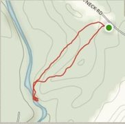 Rock Climbing Photo: This is a map of the main loop, the boulders are l...