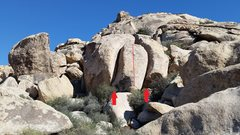 Rock Climbing Photo: The Nymph Node as viewed from the road. R-L: Narci...
