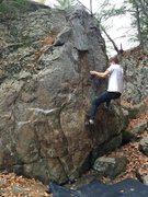 Rock Climbing Photo: Exit moves on 98% Biodegradable