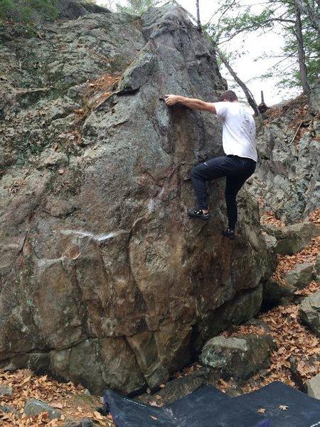 Rock Climbing Photo: Exit moves 2
