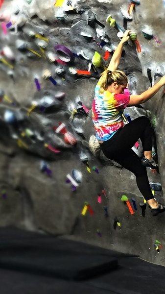 SRC climbing wall