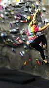 Rock Climbing Photo: SRC climbing wall
