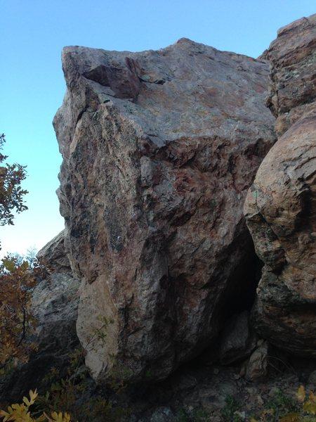 Rock Climbing Photo: Duffy Boulder