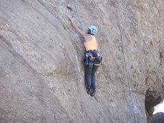 "Rock Climbing Photo: ""Captain Morgan"" offers fun, but crunchy..."