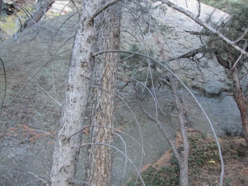 Rock Climbing Photo: Lost Flatironette indeed! Hard to see, and hard to...