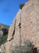 Rock Climbing Photo: Sumac Route.