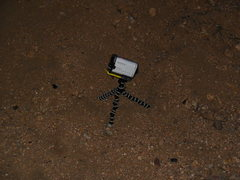 Rock Climbing Photo: A GoPro found positioned at the base of Hyperion S...