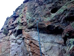 Rock Climbing Photo: Undercling moves to jugs, hence the name. Jugs ove...