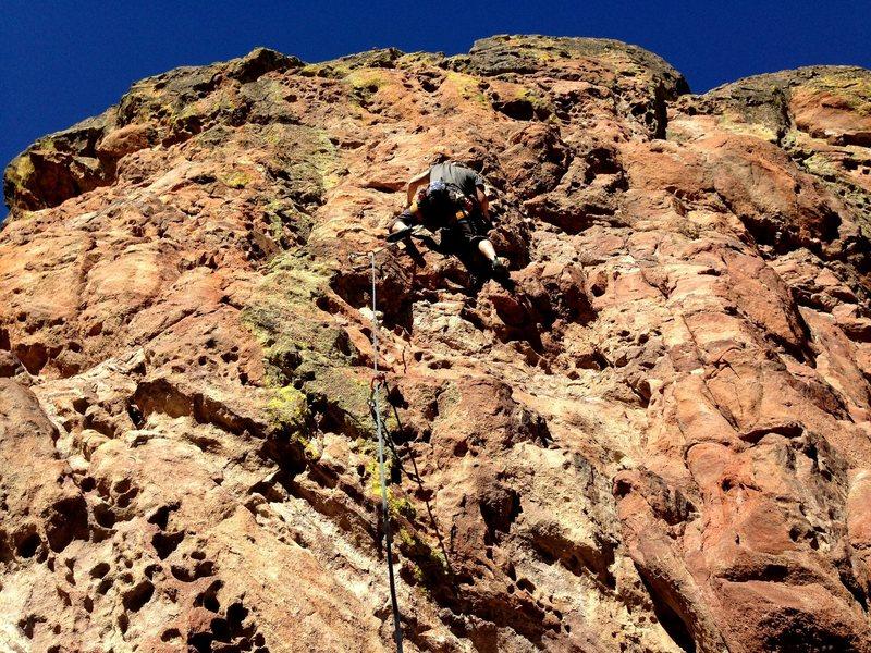 Rock Climbing Photo: A tad steeper than Jugs.