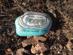 Rock Climbing Photo: RIP, Poofie.