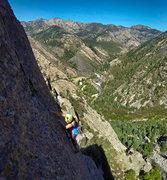 Rock Climbing Photo: high dive