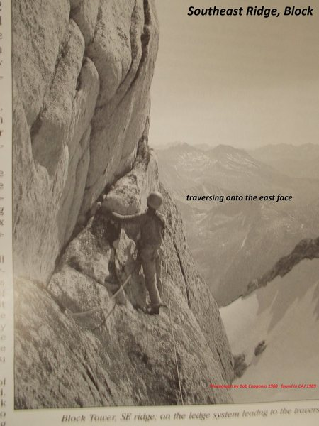 First Ascent from CAJ 1989