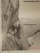 Rock Climbing Photo: First Ascent from CAJ 1989
