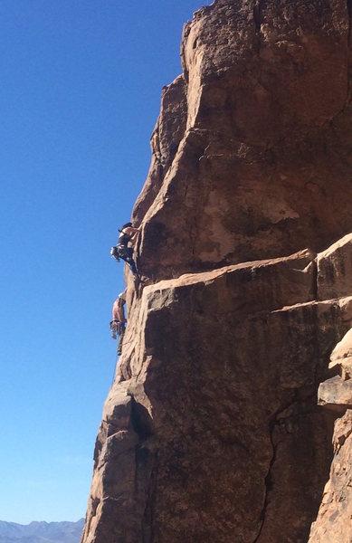 Rock Climbing Photo: Profile shot of Son of Demonstrator