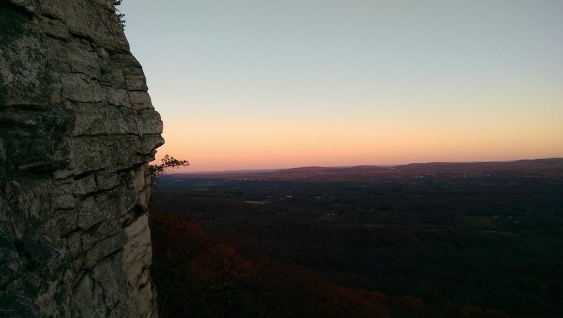Sunset near the top of Dennis