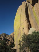 Rock Climbing Photo: David Hein following John up the crux second pitch...