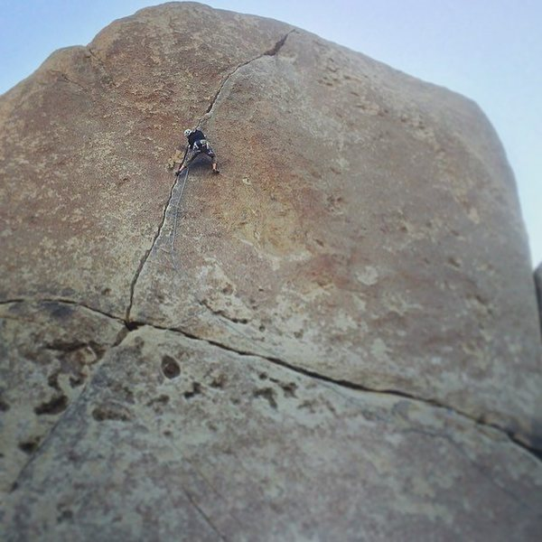 Rock Climbing Photo: Finding all 5 stars on Rubicon
