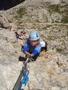 Rock Climbing Photo: Todd age 7