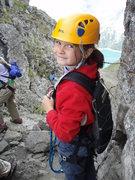 Rock Climbing Photo: Megan age 9