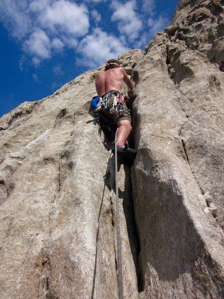 Rock Climbing Photo: castle rocks