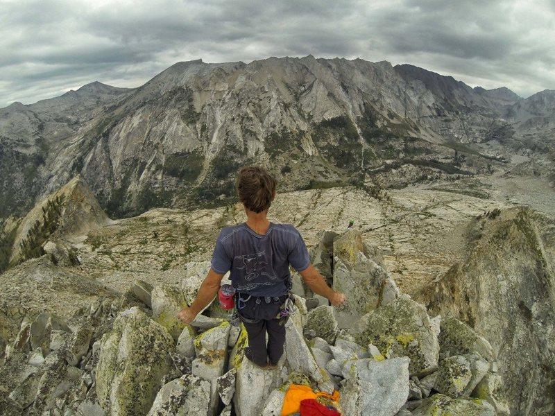 Rock Climbing Photo: Peter Croft on Angel Wings